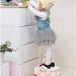 3en 1Pot Chaise pour garçons, filles–Fun bébé Voyage Toilette pour Passe à partir de bol, assise de formation, au Marchepied–amovible pièces et portable–Facile à nettoyer–Le meilleur pour les parents, les tout-petits, (Canard) de la marque Feven image 4 produit