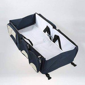 3 en 1 Sac à Langer bébé - lit pliant - lit portable - lit de voyagé berceuse - station de changement multi-fonctions de la marque POPSPARK image 0 produit