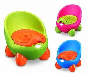 363324 Pot pour enfants POTTY BABY TOILET solide et confortable avec couvercle - Fuchsia de la marque MEDIA WAVE store image 0 produit