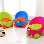 363324 Pot pour enfants POTTY BABY TOILET solide et confortable avec couvercle - Fuchsia de la marque MEDIA WAVE store image 1 produit
