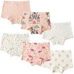 6 Paquet Petite Fille Boxer sous-vêtements Coton Culotte Fille de Bébé Bambin de la marque Cotton Talk image 1 produit
