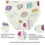 6 Paquet Petite Fille sous-vêtements Coton Fit Âge 1-7, Fille de Bébé Bambin Culottes de la marque Cotton Talk image 2 produit