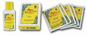 AGUA DE COLONIA Rafraîchissant Ira Pack y compris Ira Cologne 40ml et parfumés Lingettes de la marque Alvarez Gomez image 0 produit