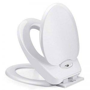 Amzdeal Abattant WC avec Frein de Chute pour Adultes et Enfants de la marque Amzdeal image 0 produit