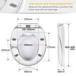 Amzdeal Abattant WC avec Frein de Chute pour Adultes et Enfants de la marque Amzdeal image 1 produit