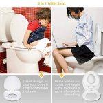 Amzdeal Abattant WC avec Frein de Chute pour Adultes et Enfants de la marque Amzdeal image 3 produit