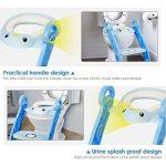 Amzdeal Réducteur de Toilette - avec Échelle Réglable Antidérapant, Siège de Toilette Pliable pour Enfant de 1–7 ans de la marque Amzdeal image 3 produit