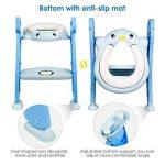 Amzdeal Réducteur de Toilette - avec Échelle Réglable Antidérapant, Siège de Toilette Pliable pour Enfant de 1–7 ans de la marque Amzdeal image 4 produit