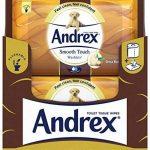 Andrex Washlets Lingettes papier toilette jetable, toucher doux, Lot de 12 de la marque Andrex image 1 produit