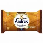 Andrex Washlets Lingettes papier toilette jetable, toucher doux, Lot de 12 de la marque Andrex image 2 produit