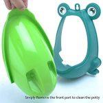 Babyhugs–mignon grenouille Lunette WC Formation Pipi pour urinoir pour garçons avec roue de moulin à vent Whirling Cible–Peluche–Vert de la marque BabyHugs image 2 produit