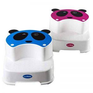 Bébé double niveaux schemel–La zwinkernde Panda–Marchepied pour enfant–Idéal pour les enfants Salle de bains ou enfant toilettes d'entraînement de la marque Luvdbaby image 0 produit