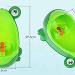 Bébé Garçons Potty De Formation Urinoir, Mignon Grenouille Debout Pot Toilette Avec La Cible Visée Drôle Pour Les Tout Petits Garçons Pipi Formateur de la marque Perfectii image 1 produit