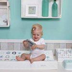 Bébé-jou 623032 Boîte à lingettes nettoyantes Motif famille de chouettes Vert menthe de la marque bébé-Jou image 2 produit