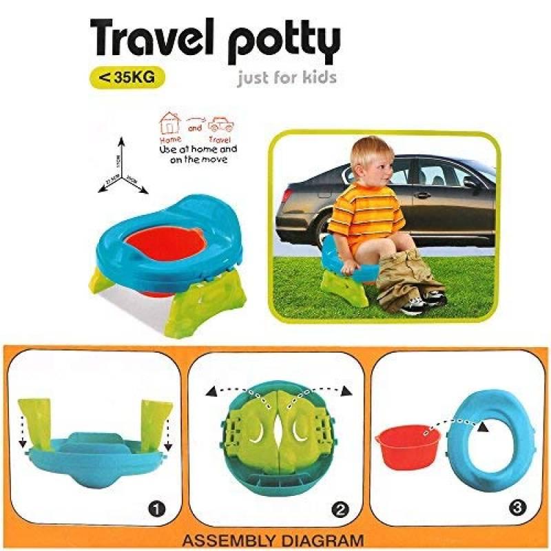 1 PC Portable B/éb/é Enfant Pot Urinoir Urgence Toilette pour Camping Voyage De Voiture et Enfant Potty Pee Formation Gar/çon 9 * 17 cm