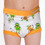Bébés garçons, sous-vêtements pour enfants avec doublure rembourrée de la marque Ez Undeez image 3 produit