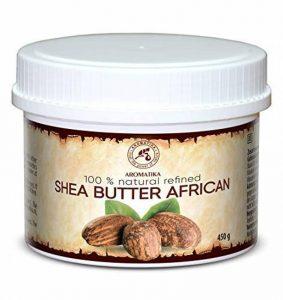 Beurre de Karité Africain 450 ml - Raffiné - 100% pur et naturel - Beurre de Karité - Idéal pour Cheveux - Peau - Lèvres - Visage - Soin du Corps -Beurre de Karité par AROMATIKA de la marque AROMATIKA image 0 produit