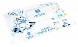 Biolane 64 Lingettes Visage et Mains - Lot de 3 de la marque Biolane image 0 produit