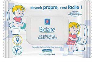Biolane Lingette Papier Toilette - Lot de 4 de la marque Biolane image 0 produit