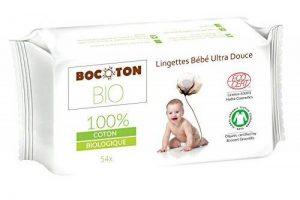 BOCOTON BIO Pack de 54 Lingettes pour Bébé Bio - Lot de 9 de la marque BOCOTON BIO image 0 produit