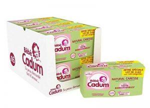 Cadum Bébé - Lingettes Natural Caresse - 960 Lingettes (8 lots de 120) de la marque Cadum image 0 produit