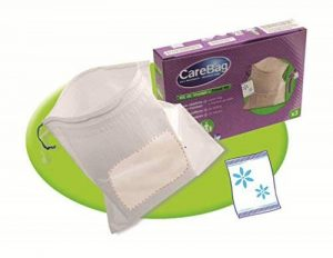 Carebag Kit de voyage (paquet de 3 sacs vomitoires avec tampon super-absorbant + 3 lingettes nettoyantes et rafraîchisssantes) de la marque Carebag image 0 produit