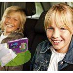 Carebag Kit de voyage (paquet de 3 sacs vomitoires avec tampon super-absorbant + 3 lingettes nettoyantes et rafraîchisssantes) de la marque Carebag image 2 produit