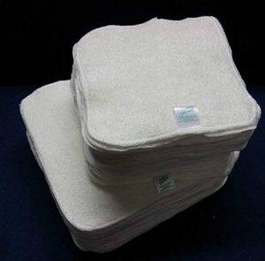 Cheeky Wipes Lot de 25 lingettes lavables en bambou pour bébé de la marque Cheeky Wipes image 0 produit