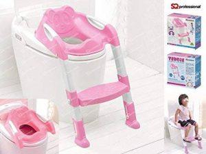 Échelle de bassin pour enfant avec siège de toilette pour enfants Pot Chaise facile assembler Plier et à ranger de la marque SQ Professional image 0 produit