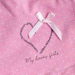 CHIC-CHIC Boxer Slip Lot de 4 Fille Bébé Enfant Culotte Pantalon Sous-Vêtement en Coton Motif Mignon Uni de la marque De feuilles image 2 produit