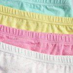 CHIC-CHIC Boxer Slip Lot de 4 Fille Bébé Enfant Culotte Pantalon Sous-Vêtement en Coton Motif Mignon Uni de la marque De feuilles image 3 produit