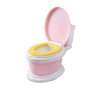Children's toilet Baby Potty Chair - Amovible, Facile À Nettoyer, Repos Élevé, Design Ergonomique Confortable, Pieds Antidérapants, Entraînement Au Petit Pot pour Votre Garçon Ou Votre Fille,Pink de la marque Children's toilet image 0 produit