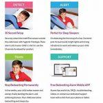 Chummie premium alarme pipi au lit (énurésie d'alarme) - 8 sons, vibrations et contrôle du volume, TC300B, Bleu de la marque BabyLand image 3 produit