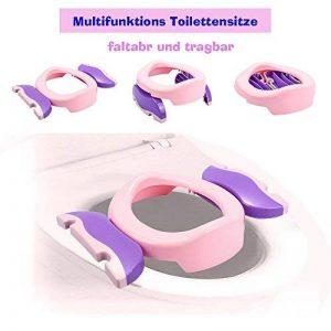 Colleer Siège pliable et transportable pour toilettes pour enfants/bébés, avec fonction antidérapante de la marque Colleer image 0 produit