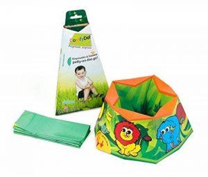 ComfyDo Portable Voyage Pot de Toilette Bébé Jungle Fun de la marque ComfyDo image 0 produit