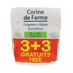 Corine de Farme 3 + 3 Lingettes Change Sensitive sans Parfum au Calendula Apaisant de la marque Corine-de-Farme image 0 produit
