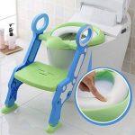 Cute Escabeau pour bébé Toilette Pot Escabeau Tabouret par Babyhugs–Bleu et Violet de la marque BabyHugs image 2 produit