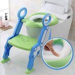 Cute Escabeau pour bébé Toilette Pot Escabeau Tabouret par Babyhugs–Vert et Bleu de la marque BabyHugs image 3 produit