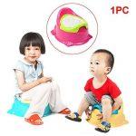 D'apprentissage de la propreté, portable Pot musical pour les tout-petits, Réducteur de toilette en plastique solide pour les tout-petits de la marque YongYI image 2 produit
