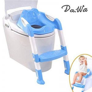 Da. Wa Siège/pot pour bébé avec échelle enfants siège de toilette wc pour enfant chaise Pot Bébé pliante de la marque Da.Wa image 0 produit