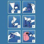 De secours Bundle pour homme et femme WC pour dringende petits besoins en voiture, dans les embouteillages, sur grand Événements ou ailleurs avec poignée de désinfection lingettes (Lot de 3) de la marque Ecosharkz image 3 produit