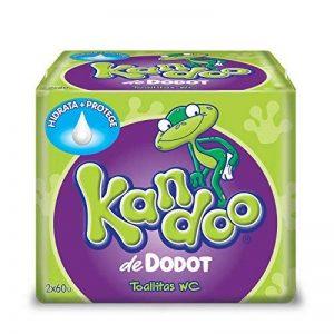 Dodot Kandoo Lingettes Humides, Melón - 120 Unités de la marque Dodot image 0 produit