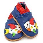 Dotty Fish Chaussures Cuir Souple Bébé Et Bambin - Garçons - Animaux de la marque Dotty Fish image 2 produit