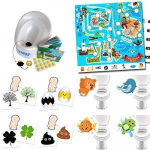 Entraînement des pots avec Magic Potty + système de récompense Pirates + sticker de toilette + sticker magique de la marque By Diana image 0 produit