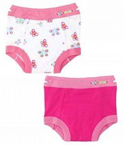 Ez Undeez Bébés filles, sous-vêtements pour enfants avec doublure rembourrée de la marque Ez Undeez image 0 produit