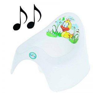 Facile à Nettoyer toilettes pot pour bébé Enfants Enfant Fun Canard Animaux colorés de la marque Tega Baby image 0 produit