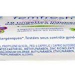 Femfresh - Toilette Intime - 10 Lingettes intimes Rafraîchissantes et Hydratantes - Format Pocket - Lot de 4 de la marque Femfresh image 3 produit