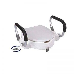 FERIDRAS Comfort Rehausseur pour Siège WC avec Poignées, Blanc, 20x 45x 54cm de la marque FERIDRAS image 0 produit