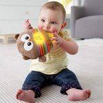 Fisher-Price Mon Hibou Lumineux peluche bébé musicale et lumineuse, dès la naissance, CDN55 de la marque Fisher-Price image 2 produit