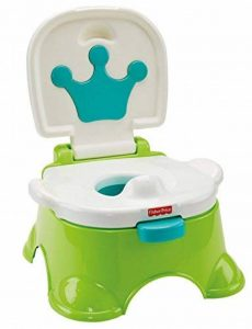Fisher-Price Pot musical Royal Estrade pour bébé, transformable en marchepied, dès 3 ans, DLT00 de la marque Fisher-Price image 0 produit